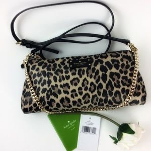 Kate Spade Grove street Leopard Jane bag